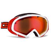 Очки горнолыжныеОчки горнолыжные<br>У этой модели очень большой выбор цветов оправ. Разные варианты линз - поляризованные, фотохромные, с зеркальным напылением. <br>Есть вариант оправы маска на очки. Отличная совместимость со шлемом.<br>Надежная защита при низких температурах благодаря вставкам из полиамида.<br>Особенности: <br>-маска на очки;<br>-двойной фильтр;<br>-зеркальное покрытие.