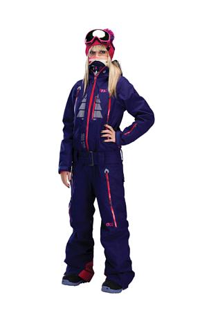 Купить Комбинезон сноубордический Picture Organic 2015-16 JAM Purple Одежда сноубордическая 1219591