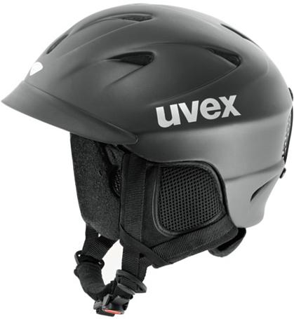 Купить Зимний Шлем UVEX APACHE PRO black mat, Шлемы для горных лыж/сноубордов, 702715