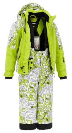 Купить Комплект горнолыжный MAIER 2012-13 Sergio SET Spring лайм Детская одежда 786036