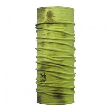 Купить Шарф BUFF Wool Tie Dye MERINO WOOL LIME DYE, Банданы и шарфы Buff ®, 1263386