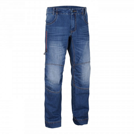 Купить Брюки для активного отдыха Salewa 2015 CLIMBING MEN EL CAPITAN 2.0 CO M PNT jeans blue / синий Одежда туристическая 1163545