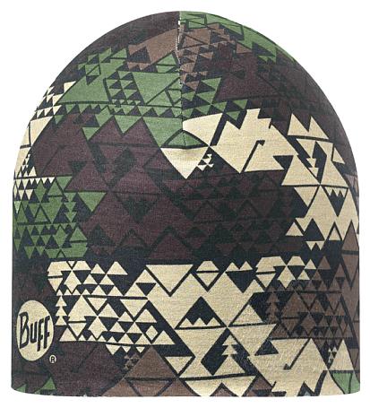 Купить Шапка BUFF Coolmax COOLMAX REVERSIBLE HAT TAD MILITARY - OLIVE Банданы и шарфы Buff ® 1185659