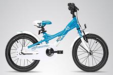 Велосипед Scool Xxlite 16 Alloy 2017 Голубой