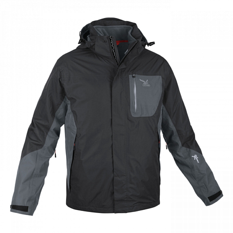 Куртка для активного отдыха Salewa PARTNER PROGRAM MEN *GEA PTX/PL M 2X JKT black/0780 int.0780
