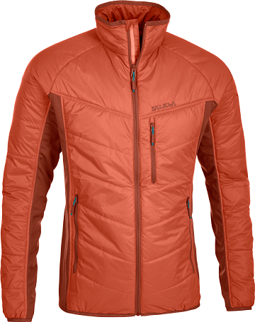Куртка для активного отдыха Salewa 2015 PARTNER PROGRAM MEN *DURAN HYBRID PRL M JKT terracotta/1730 /