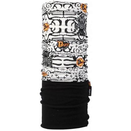 Купить Бандана BUFF TUBULAR POLAR ZAC LOGO / BLACK Банданы и шарфы Buff ® 722133