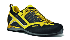 Ботинки для альпинизмаАльпинистская обувь<br>Верх - водонепроницаемая ткань Schoeller K-Tech Micro+ замша толщиной 1,6-1,8 мм. Подкладка - вельветин. Усиленный низ ботинка - система Asoflex 00 MR. Анатомичная стелька Lite 2.<br><br>Назначение: Летний альпийский трекинг, via ferrata<br><br>Подошва: Vibram Friction+ слой микропоры + PU амортизатор<br><br>Защита от влаги: Водонепроницаемая пропитка<br><br>Вес: 430 г (один ботинок размера 8 UK)