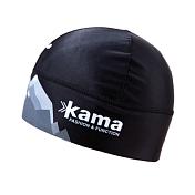 ШапкаГоловные уборы<br>Эластичная шапка из Lycra® для лыжных гонок<br> <br> -подкладка Thermolite® выводит влагу, оставаясь сухой<br> -мягкое, полое волокно сохраняет тепло, греет даже в мокром состоянии<br> -фронтальная часть защиена тканью WINDSTOPPER, препятствующей переохлаждению<br> -Размеры M (50-56 см), L (56-62 см)