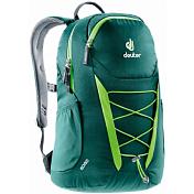 РюкзакРюкзаки городские<br>Deuter Gogo всегда был самым популярным и классическим среди городских рюкзаков, и мы долго не решались изменить его. Но, наконец, мы сделали это! Представляем вам новый, обтекаемый, с техническим дизайном рюкзак для школы, офиса и на каждый день. В нем сохранились все практичные опции и добавилась новая комфортная подвесная система.<br><br>- Система спинки Airstripes.<br>- Плечевые лямки анатомической формы<br>- легкий доступ в основное отделение на U-образной молнии<br>- фронтальный карман на молнии с карабинчиком для ключей<br>- эластичные боковые карманы<br>- нагрудная стропа с плавной регулировкой<br>- главное отделение под размер папки для бумаг<br>- отделения для документов<br>- внутренний карман для мелких вещей<br>- эластичный корд на фронтальной части<br><br>Материал: Super-Polytex / 330D Pocket Rip / Microrip-Nylon<br>Вес: 590 g<br>Объем: 25 l<br>Размеры: В x Ш x Г: 46 x 30 x 21 см