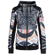 Флис сноубордический Roxy 2018-19 FROST PRINTED J TRUE BLACK_POP SNOW STARS