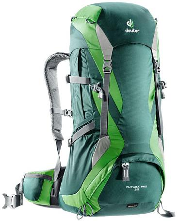Купить Рюкзак Deuter 2017-18 Futura Pro 36 forest-emerald Рюкзаки туристические 1187068