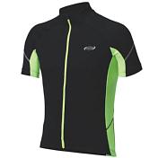 ������ BBB ComfortFit jersey s.s. black yellow (BBW-235)