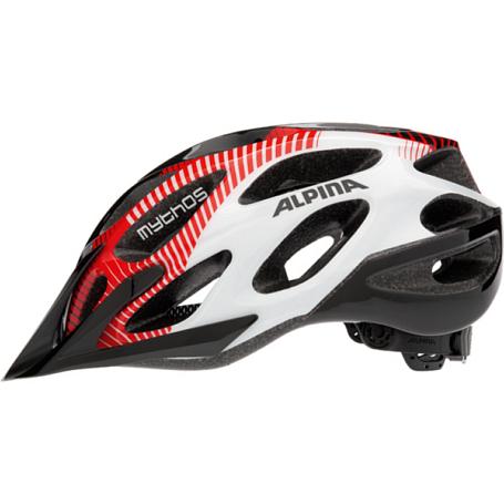 Купить Летний шлем Alpina Mythos 2.0 black-red-white, Шлемы велосипедные, 1137315