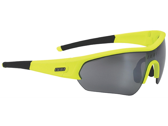 Оправа для велоочков BBB frame Select glossy neon yellow, black temple rubber (BSG-43)