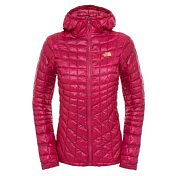 Куртка для активного отдыха THE NORTH FACE 2015-16 W THERMOBALL HD  DRA PM/GE FL PT DRA/PM/GE / сливовый