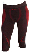 Брюки 3/4 Accapi 2018-19 polar bear seamless 3/4 TROUSERS MAN black / red