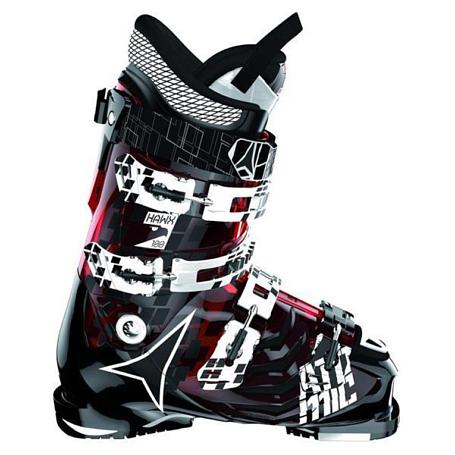 Купить Горнолыжные ботинки ATOMIC 2013-14 Hawx 100 TRANSPARENT RED/SOL, Ботинки горнoлыжные, 902450