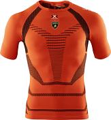 Футболка X-bionic 2016-17 For Automobili Lamborghini Running O095 / Оранжевый