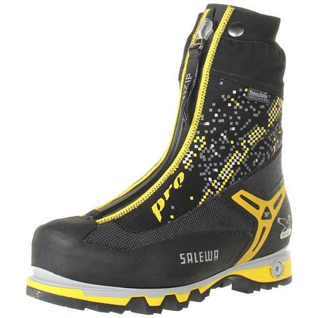 Купить Ботинки для альпинизма Salewa Pro Mens MS PRO GAITER (W) Black - yellow, Альпинистская обувь, 896314
