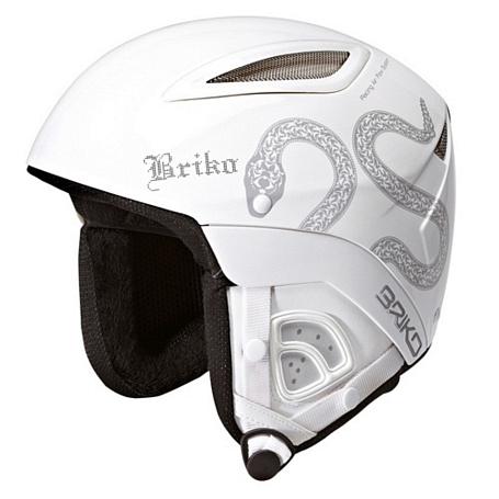 Купить Зимний Шлем Briko DAKOTA (BLUETOOTH READY) WHITE SNAKE (F051), Шлемы для горных лыж/сноубордов, 772213