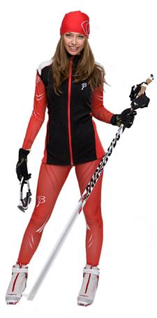 Купить Комплект беговой Bjorn Daehlie Bodytec Victory 2-piece RACE Women Formula One (красный), Одежда лыжная, 774714