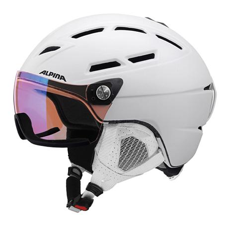 Купить Зимний Шлем Alpina GRIVA Visor VHM white matt Шлемы для горных лыж/сноубордов 1279944