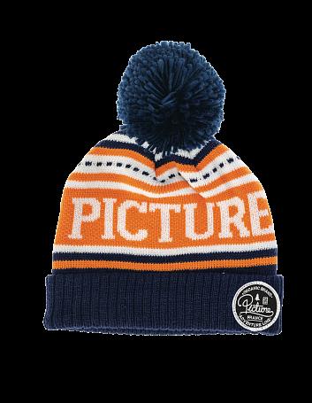 Купить Шапка Picture Organic 2015-16 MANCHESTER BEANIE Navy Orange, Головные уборы, шарфы, 1219493