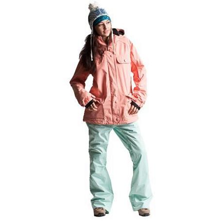 Купить Брюки сноубордические POWDER ROOM 2013-14 SNOWBOARD PANTS FAB 5 POCKET JEAN PANT - SLIM FIT Pixie Herringbone Одежда сноубордическая 1023474