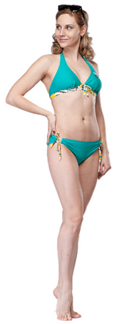Топ для активного отдыха Blue Chips 2012 Vario Trend Surf Push up top C Viridian бирюзовый