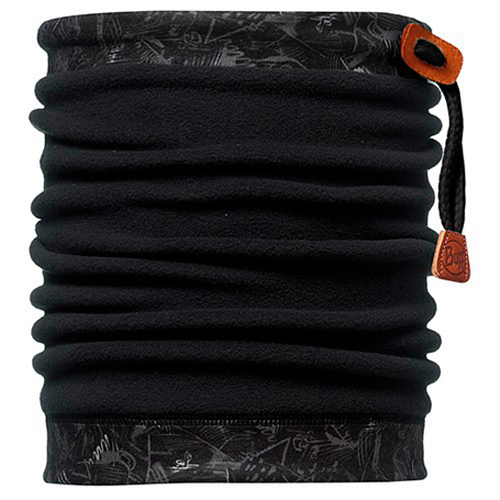 Шарфы BUFF NECKWARMER BUFF Polar DESSATNETCH\BLACK POLARTEC