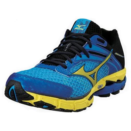 Купить Беговые кроссовки элит Mizuno 2013 Wave Inspire 9 MalibuBlue/Yellow/Ancite Кроссовки для бега 901471