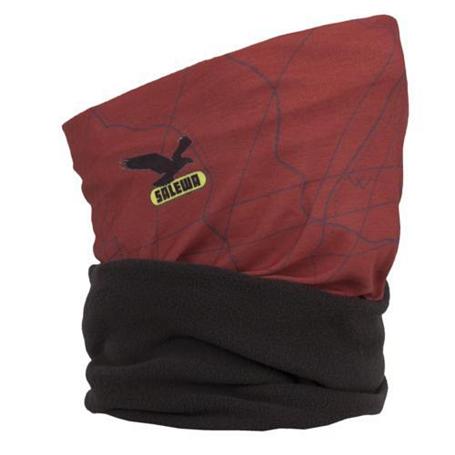 Купить Бандана Salewa ICONO PL HEADBAND M mountain dark red Головные уборы, шарфы 752963