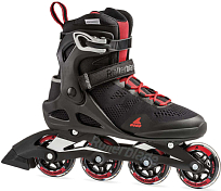 Роликовые коньки Rollerblade 2020 Macroblade 80 Black/Red