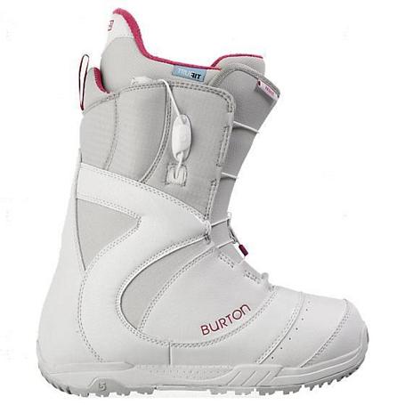 Купить Ботинки для сноуборда BURTON 2012-13 Mint White/Gray/Pink 844476
