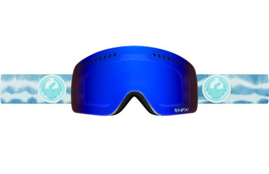 Купить Очки горнолыжные DRAGON 2016-17 NFXs Onus Blue / Dark Smoke 1299435