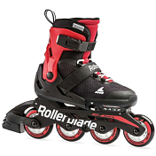 Роликовые коньки Rollerblade 2019 Microblade black/red