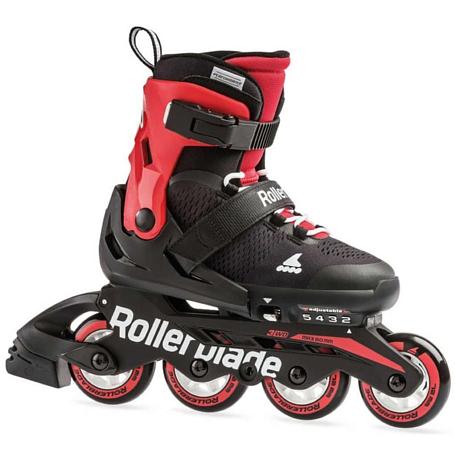 Роликовые коньки Rollerblade 2020 Microblade Black/Red - купить в КАНТе
