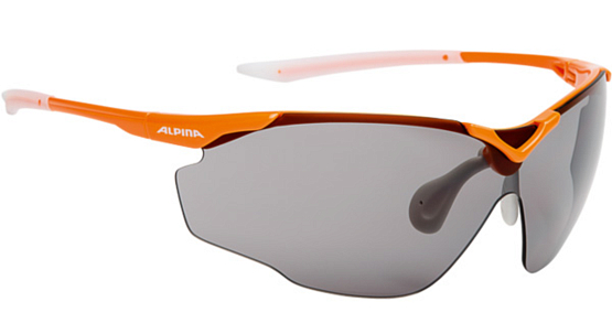 Очки солнцезащитные Alpina PERFORMANCE SPLINTER SHIELD C+ orange-white/black fogstop S3