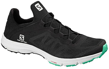 Сандалии Salomon Amphib Bold W Black/Wht/Electric Green