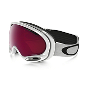 Очки Горнолыжные Oakley 2016-17 A-frame 2.0 Polished White/prizm Torch Iridium