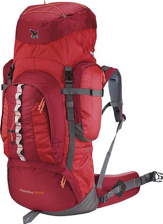 Купить Рюкзак Salewa Hiking Cammino 50+10 red/anthracite Рюкзаки туристические 1073292