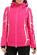 Куртка горнолыжная EA7 Emporio Armani 2015-16 WOMANS WOVEN JACKET FUXIA
