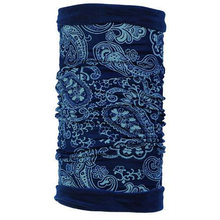 Купить Бандана BUFF POLAR BUFFREVERSIBLE AFGAN BLUE/EVENING SKY Банданы и шарфы Buff ® 794935