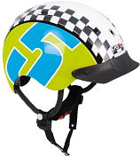 Велошлем Casco YOUTH & KIDS Mini-Generation Racer 5 green-blue