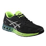Беговые кроссовки RUN и FITNESSКроссовки для бега<br>Asics Fuzex Women - сбалансированные кроссовки, которые подойдут для ежедневных тренировок.<br><br>Обе модели построены на новой межподошве, представляющую собой смесь пены EVA с фирменным Гелем ASICS GEL. Вы не увидите здесь традиционных вставок из Геля, вместо этого Гель смешан с пеной и находится по всей площади межподошвы. В результате, вы почувствуете амортизирующие свойства данного силикона, независимо от того, на какую часть стопы приземляетесь во время бега - на пятку, носок или на среднюю часть.<br><br>Перепад пятка-носок этой моделей составляет 8мм, толщина их межподошв также одинакова &amp;#40;26мм высота пятки, 18мм высота передней части&amp;#41;. Данный перепад на 2мм меньше, чем у традиционных тренировочных Асикс, что во время бега должно сопровождаться более плавным райдом. Разница в 2мм несущественна, поэтому спортсмены, которые бегают в классических моделях типа Asics Pulse или Cumulus, с комфортом смогут тренироваться и в новых моделях.<br><br>Верх обеих новинок хорошо облегает стопу и адаптируется к ней. В плане дизайна компания не ушла далеко от своей основной философии. В обеих версиях использована бесшовная конструкция верха с поддерживающими литыми накладками. Это уменьшает риск возможного натирания стопы во время бега. Материал верха обеспечивает дополнительную поддержку в определенных зонах для фиксации стопы на месте во время бега. Как и в других кроссовках Асикс, мы можем увидеть стельку ComforDry Sockliner. Ее антибактериальный материал не только уменьшает неприятный запах, но и обеспечивает комфорт с дополнительной амортизацией на каждом шаге.<br><br>Asics Fuzex - выбор бегунов со средним весом для ежедневных пробежек до 15-20км. Новая межподошва FuzeGEL позволит перекатываться с пятки на носок плавнее и эффективнее.