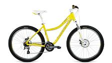 ВелосипедСпортивная посадка<br>Новый Format 7712 – женский горный велосипед, в котором гармонично сочетаются стиль и эффективность.<br> <br> Особенности:<br> <br> Рама велосипеда разработана с учетом женской анатомии и имеет заниженную верхнюю трубу, что облегчает посадку на велосипед. 26-дюймовые колеса делают модель маневренным на лесных или парковых тропинках. Повышают уровень комфорта широкое анатомическое седло и специальные мягкие грипсы, подходящие под женскую ладонь. <br> <br> Покорять ландшафты, чтобы любоваться красивыми видами - одно из призваний Format 7712. В этом ему помогает группсет Shimano. Велосипед готов проявлять динамичность и манёвренность как в городе, так и за его пределами. Цепкие покрышки Rubena Scylla Classic помогут покорить неизведанные тропинки и проложить новые маршруты. Для обеспечения ежедневной безопасности при маневрах Format 7712 оборудован дисковыми механическими тормозами Tektro MD-M280. <br> <br> Велосипед имеет сочный зеленый цвет в сочетании с белым. Изящно изогнутая рама придаст вам элегантности и стиля по пути в парк или лес. Format 7712 поможет вам оставаться в отличной физической форме и открыть окружающий мир по-новому.<br> <br> Технические характеристики:<br> <br> Категория велосипеда: Woman MTB<br> Вес: 14,2 кг.<br> Рама <br> Материал рамы: Алюминий<br> Рама: 26, Woman/Trekking, алюминиевый сплав 6061, полу-интегрированная рулевая колонка, евро каретка<br> Ростовка рамы: S, M<br> Амортизация <br> Тип амортизации: Хардтейл<br> Вилка: SR Suntour XCT 26, 9x100мм. Регулировка предварительной нагрузки<br> Конструкция амортизационной вилки: Пружинно-эластомерная<br> Ход вилки: 80<br> Рулевой узел <br> Рулевая колонка: VP, полу-интегрированная, безрезьбовая, ZS 44/28.6|ZS 44/30.0<br> Вынос руля: Format Woman Trekking, угол: 7°, диаметр: 25.4 мм, длина: 90 мм<br> Руль: Format Woman Trekking, ширина: 660 мм, подъём: 25 mm, диаметр: 25.4 мм<br> Грипсы: Format Woman Trekking<br> Тормозная система <br> Тип тормозов: Дисковые механ