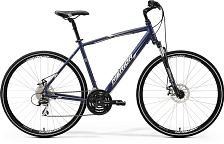 Велосипед MERIDA Crossway 20-MD 2017 Dark Blue - Silver/White