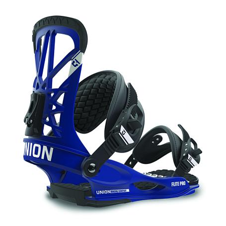 Купить Сноуборд крепления UNION 2015-16 FLITE PRO Blue, крепления, 1229606