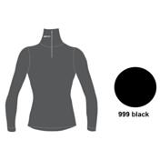 Футболка с длинным рукавом ACCAPI TECNOSOFT PLUS TURTLENECK SW. 1/2 ZIP LADY (black) черный